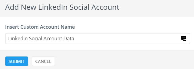 report linkedin social