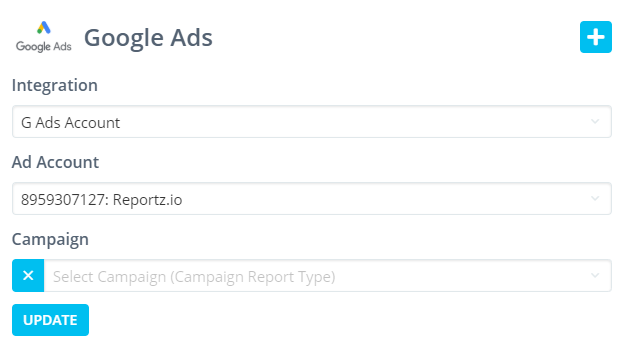 ads reporting template