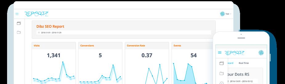 Digital Marketing Reporting Dashboard